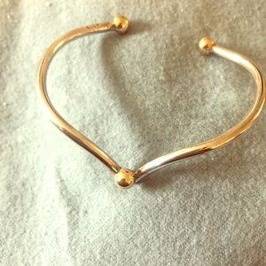 EDEN custom Cape Cod Bracelet 14k gold SS